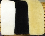 Just Merino REAL Sheepskin Standard Girth Cover Tube Style 28 inch Long