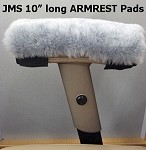 Real Sheepskin Scooter & Wheelchair Armrest Pads also fits Rockers & Office chairs