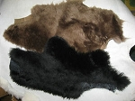 Natural Pet Toys: 2 Pieces Real Sheepskin Wool & Leather Dog Training Aids