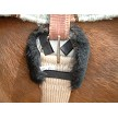 JMS Sheepskin Cinch Ring Pad with Velcro Tabs