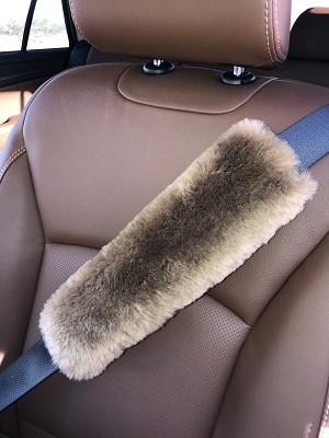 "Brown 12"" L Seat Belt"